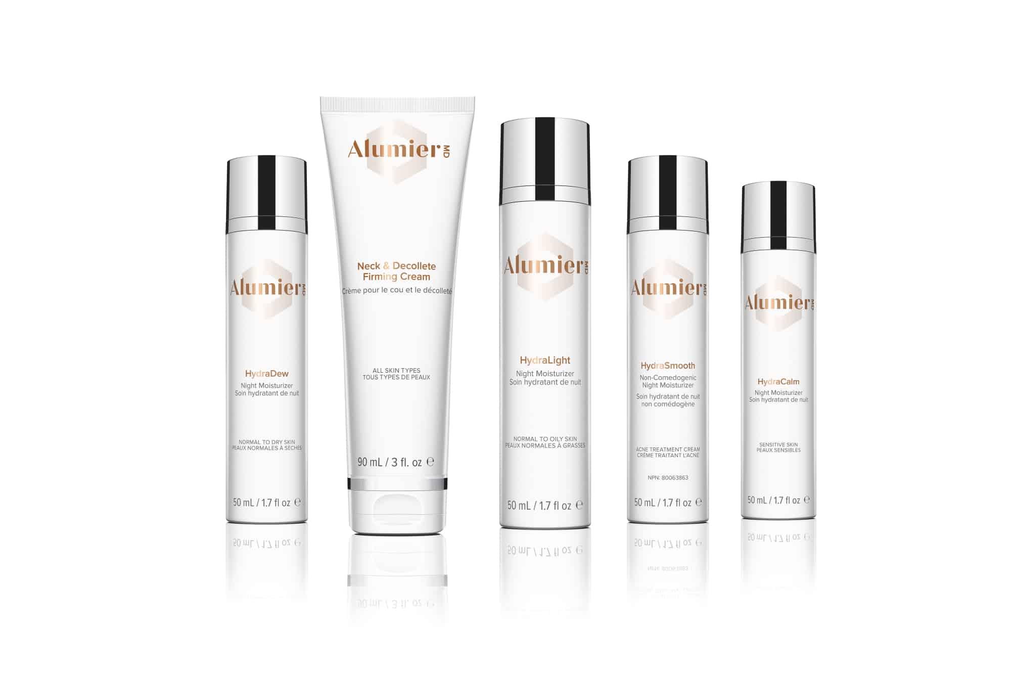 AlumierMD moisturizers